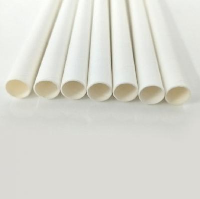 Ống hút giấy trắng 7mm