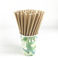 Làm ống hút bằng giấy