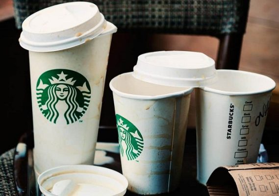 Ly giấy Starbucks