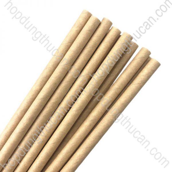 ống hút giấy kraft