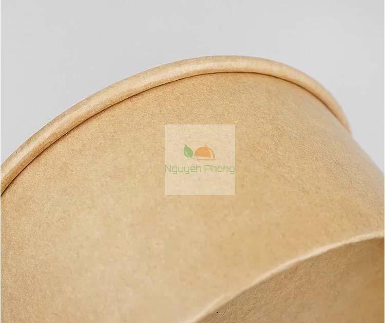 Tô giấy kraft nâu được làm từ 100% giấy nguyên sinh xuất sứ Nga