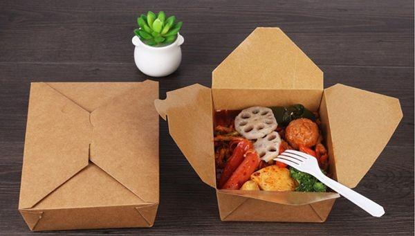 Các hộp đựng thức ăn bằng giấy ngày càng được sử dụng rộng rãi và phổ biến