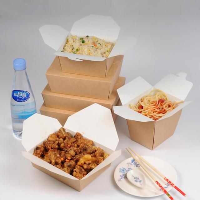 Dùng hộp giấy đựng thức ăn sẽ tốt cho sức khỏe của người tiêu dùng vì không chứa các chất độc hại
