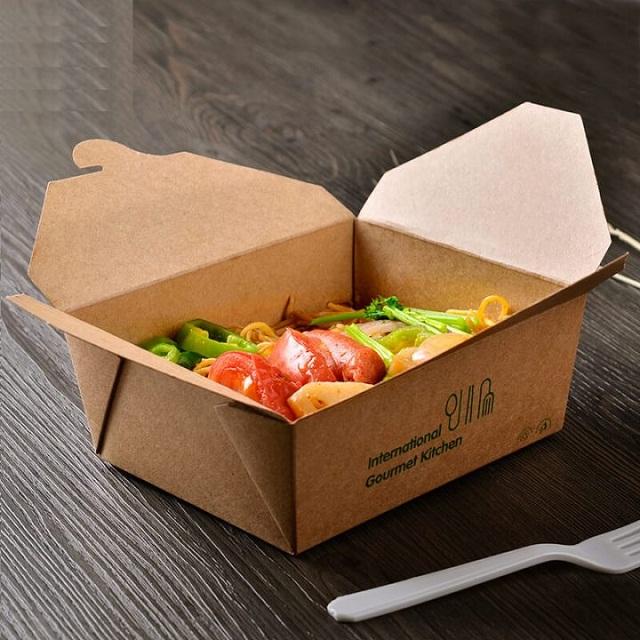 Hộp đựng thức ăn mang đi bằng giấy