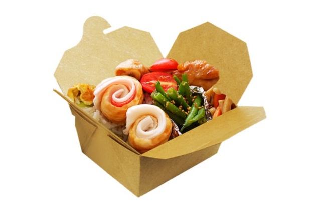 Hộp giấy đựng thức ăn đảm bảo sức khỏe