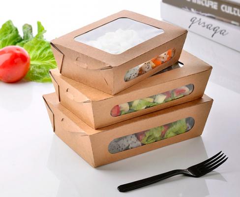 Hộp giấy đựng thức ăn phải được thiết kế gọn nhẹ và tiện lợi