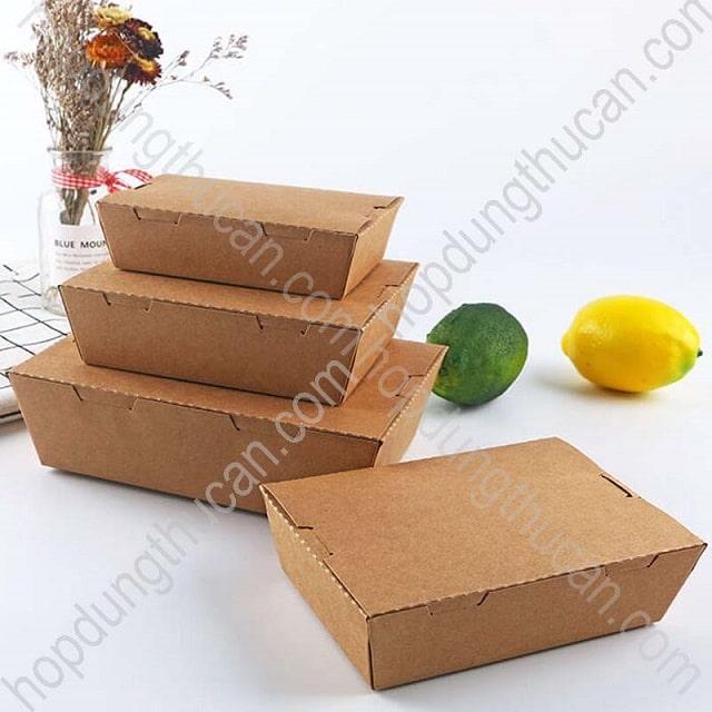 Hộp giấy đựng thức ăn cao cấp giá rẻ Nguyên Phong