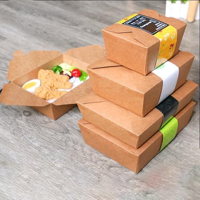 Mua hộp giấy đựng đồ ăn giá rẻ có nên không?