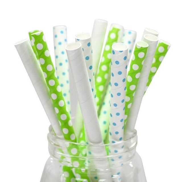Ống hút giấy thân thiện môi trường